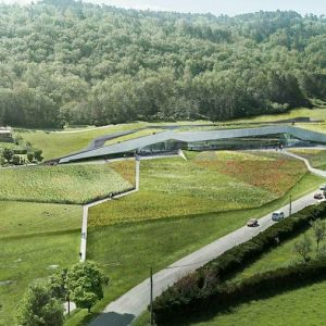 Dordogne-Perigord: Lascaux IV (Lascaux 4) opgenomen in Michelingids La France des lieux trois étoiles.