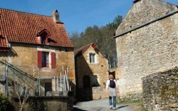 Dordogne Périgord: wandelen en wandelroutes - Boucle de Castels bij Saint Cyprien Moncrabou
