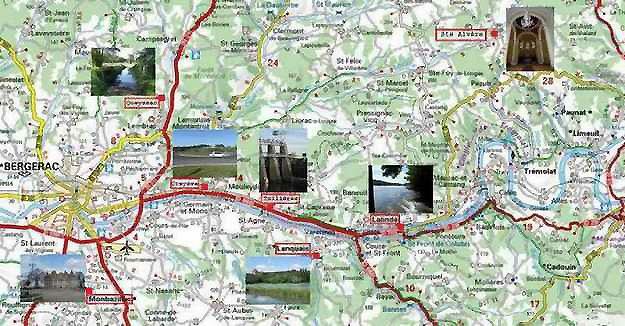 Biënnale Ephémères 2015: in 7 dorpen aan weerszijden van de Dordogne.