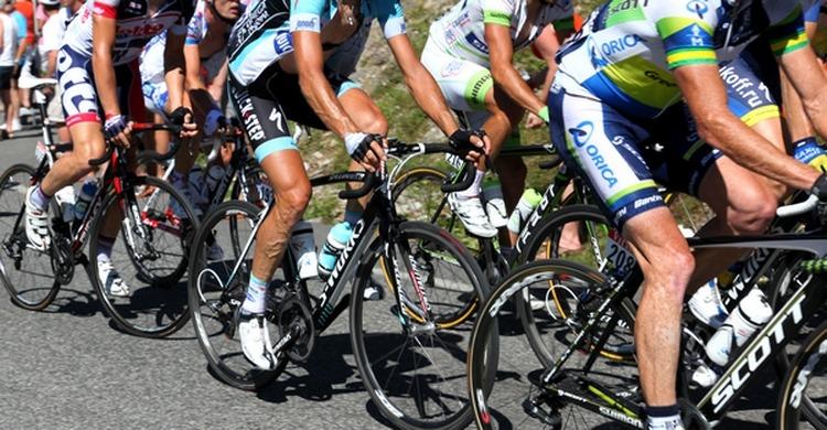 Dordogne - Tour de France 1964 accident in Port-de-Couze.