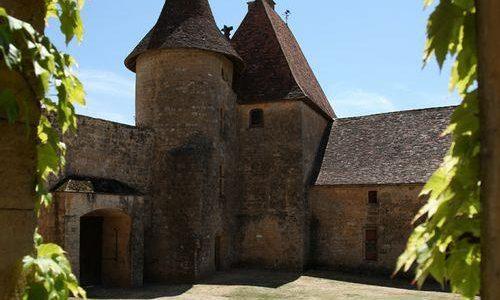 Château de Biron bij Monpazier in Dordogne Périgord