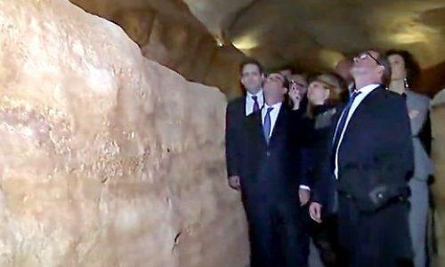 Dordogne Perigord: Lascaux 4 geopend door president François Hollande.
