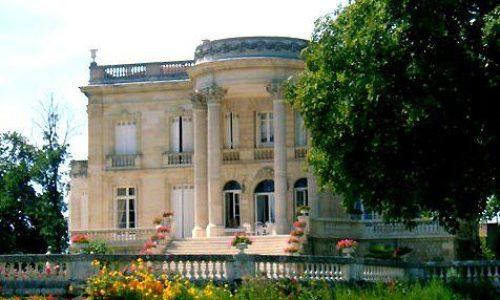 Dordogne Perigord: Chateau de Marbuzet in Saint-Estephe (Médoc).