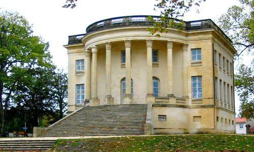 Dordogne Perigord: Chateau Peychotte, ook bekend als Maison Carrée d'Arlac.