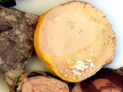 Dordogne: Route du foie gras du Périgord.
