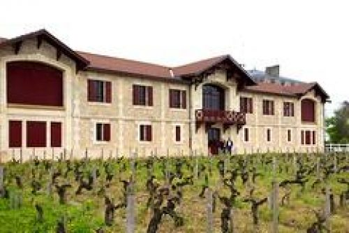 Dordogne Périgord: Chai de Lardimalie lijkt sprekend andere wijnchateaux, zoals Pontet-Canet.