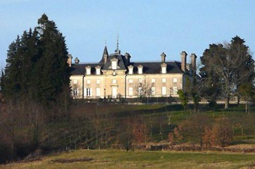 Dordogne Périgord: Chateau de Lardimalie ten oosten van Périgueux.