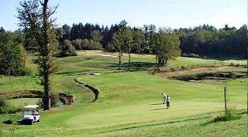 Le Golf International de La Prèze bij Montbron.