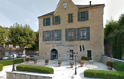 Dordogne Perigord: restaurants met Michelinster: L-Imaginaire in Terrasson.