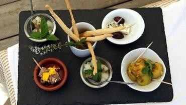 Dordogne-Périgord: op camping Lo-Gorissado verzorgt chef-kok Thierry Bardet spannende kookworkshops.