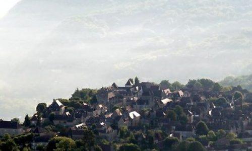 Het bastide-dorp Domme, volgens The Telegraph het mooiste dorp van Frankrijk.