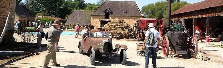 Dordogne Périgord: Openluchtmuseum Parc Le Bournat in Le Bugue.