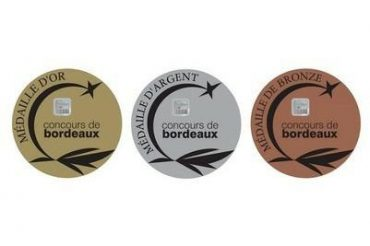 Dordogne Périgord: medailles Concours de Bordeaux-Vins d'Aquitaine 2017