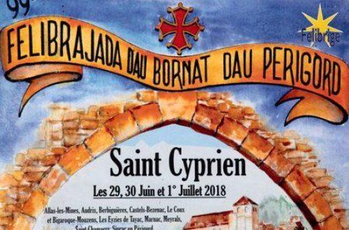 Dordogne-Périgord: Félibree 2018 in Saint-Cyprien.