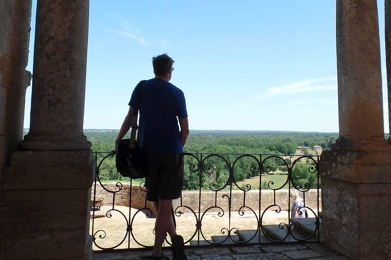 Dordogne-Périgord - kastelen castles chateaux: Chateau de Biron