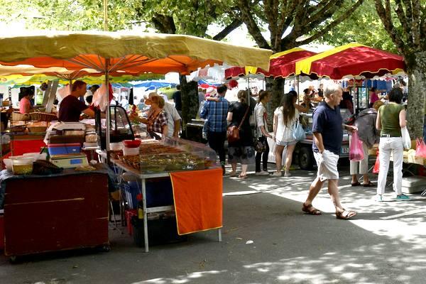 Dordogne Perigord: markt, market, marché - Riberac