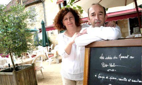 Dordogne Perigord-Bib Gourmand restaurants: Le Petit Paris in Daglan