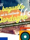 Dordogne Perigord: baguette stokbrood tradition Cédric Raynal boulanger in Saint-Astier